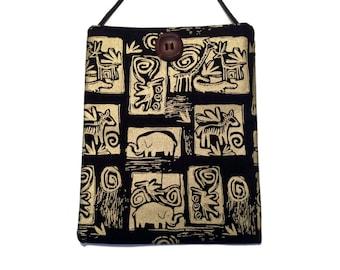 Ethnic crossbody bag, crossbody purse, accessory, Afro print bag,  purses and bags, crossbody bag,