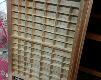 Printers Type Set Drawers - have 6 similar - Vintage