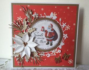 Christmas / Holidays / Winter Card Handmade