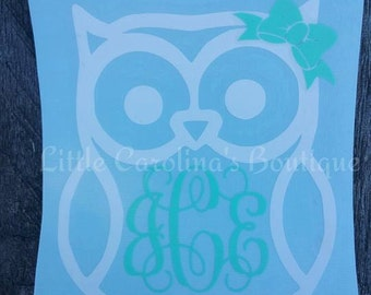 Owl Decal #1