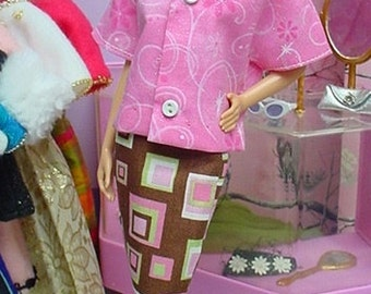 LACED WITH CHOCOLATE for Silkstone Barbie & Fashion Royalty