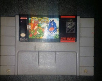 Yoshis island super mario world 2 snes super nintendo