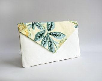 Clutch bag / envelope bag / pochette - floral