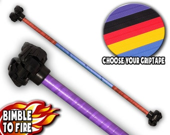 Handmade 90cm Flower Staff - Complete Range Of Customizable Colours / Worldwide Shipping