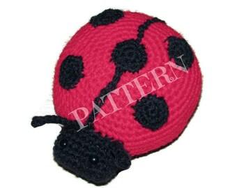 Crochet Ladybug PATTERN