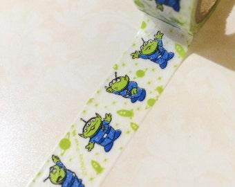 Toy Story Washi Tape - Aliens - Japanese Disney