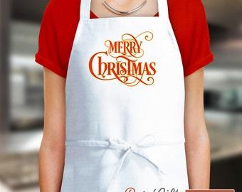 Christmas Apron, Xmas Apron, Christmas Gift, Christmas, Aprons For Women, Funny Apron, Cooking Gift, Womens Aprons, Apron Men, Apron Custom