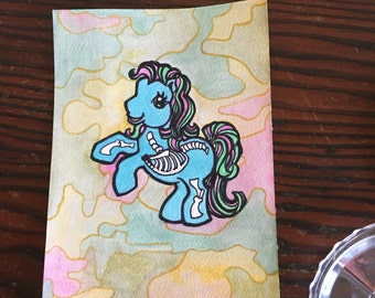 Hand painted my little pony painting