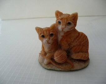 Vintage  Nature Trail Series Cat figurine