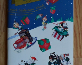 1994 Enesco Treasury of Christmas Ornament Brochure