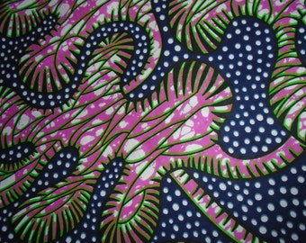 Vlisco African Wax Print Fabric