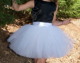 SEWN Tulle skirt, flower girl tutu,Soft Tulle, Bridal, Weddings, Flower Girls CUSTOM sewn tutus