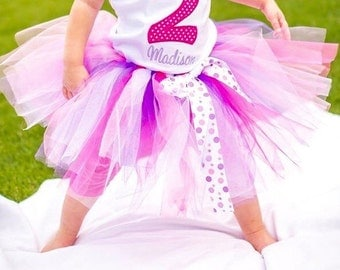Tutu, Toddler Tutu, Birthday Tutu, Costume, Tutu with Bow, Colorful Tutu, Tutu for Girls Costume, Costume Tutu for Toddlers, Youth Tutus