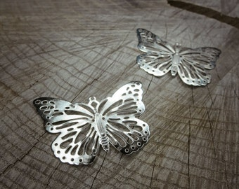 Butterfly Stampings ~2 pieces #100705