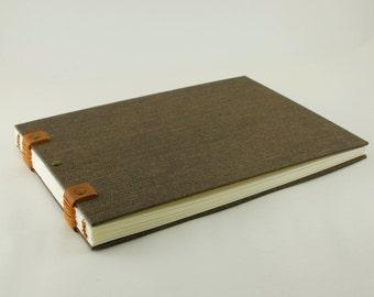 Watercolour notebook, book travel, Coptic binding, 20cmX15cm, 40 pages, carnettiste, drawings, sketchbook sketchbook