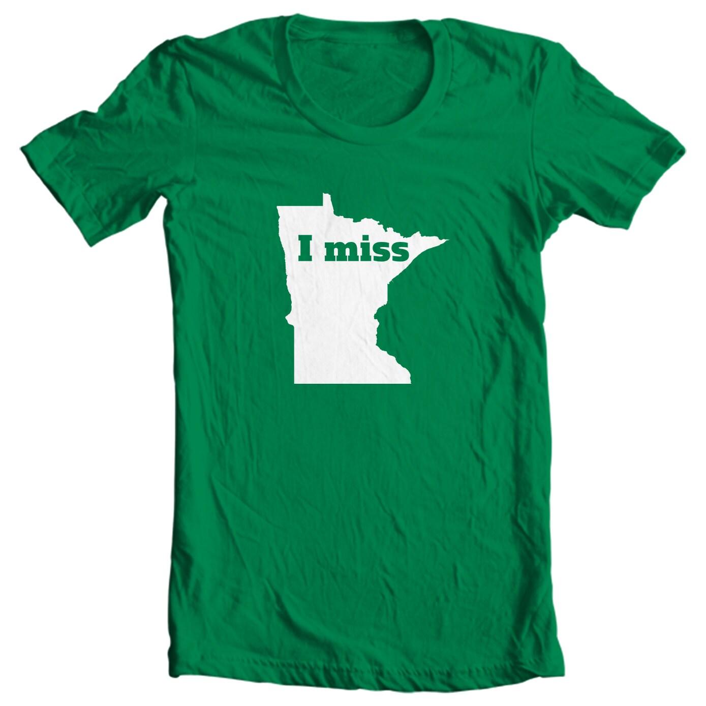 Minnesota Kid's T-shirt - I Miss Minnesota - My State Minnesota Kid's T-shirt