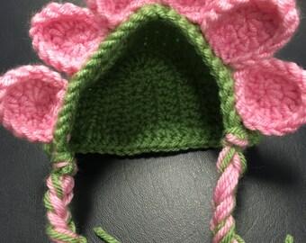 Flower Petal Crochet Hat