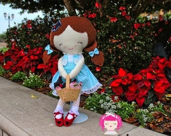 Wizard of Oz Dorothy Doll with Toto