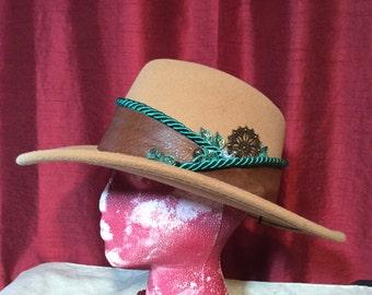 Camel Felt Cowboy Hat