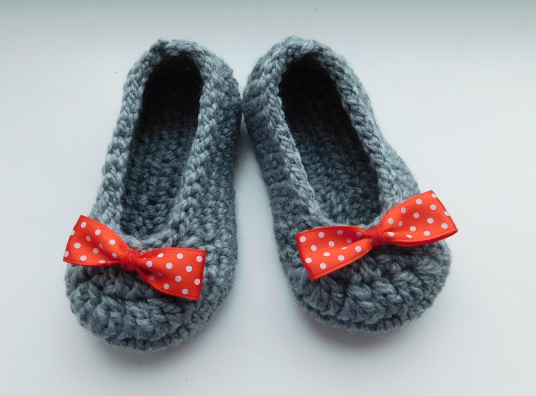 Crochet Baby Ballet Shoes Pattern : Crochet Pattern Baby Shoes Ballet slippers PDF Crochet