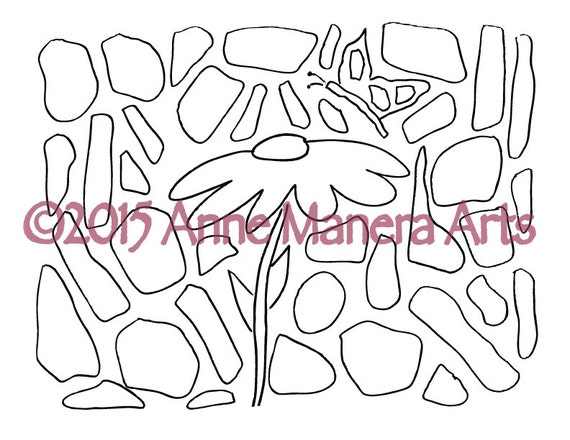 Items similar to Coloring Book for Adults Printable One ...