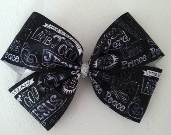 Christian Hair Bow