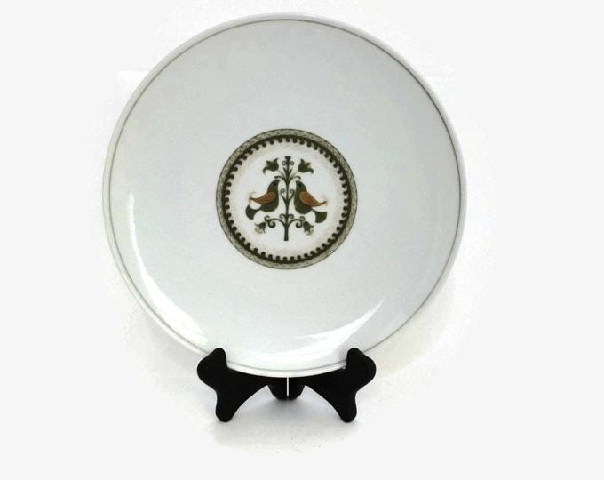 Noritake China Vintage Plate Hermitage Pattern