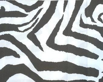 Brown Zebra Animal Print Table Runners