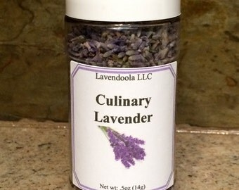 Culinary Lavender - Enhances Food, Great in chocolate, lemonaid, icing, teas, drinks, and desserts!