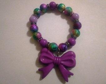 Purple Multi Color Bracelet