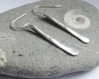 Sterling Silver Forged Earrings - SOLD - but more can be made