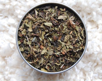 MOXIE BOOST Organic Tea Blend, Organic Loose Tea, Loose Tea Blend