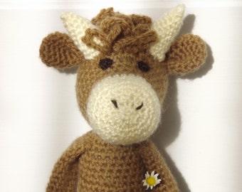 Amigurumi Highland Cow : Vaca amigurumi Etsy