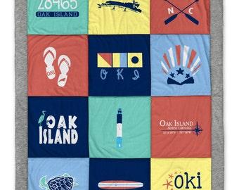 Oak Island Destination Blanket