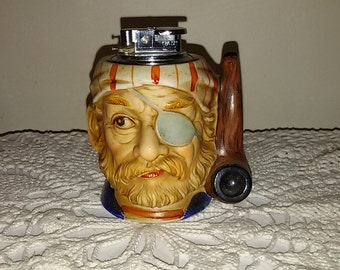French Vintage 60's / table lighter Pirate