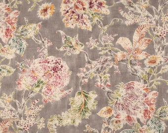 Pair of window curtains panels floral window panels country drapes