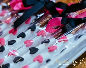 Heart and Spade Chocolate Covered Pretzels
