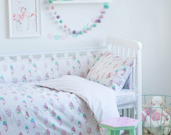 Ice Cream Bedding - Baby Bedding Crib Bedding Set Nursery Bedding