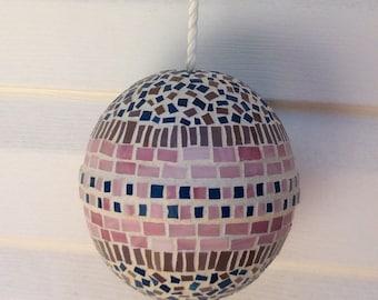 Round Mosaic Ball/Sphere Hanging