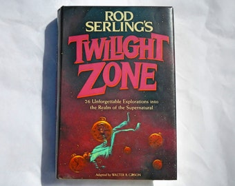 Rod Serling's Twilight Zone Vintage 1983 Hardcover Edition