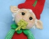 Elfin Thread- Gribin, The Baby Elf Amigurumi PDF Pattern (Elf Pixie Corchet pattern)