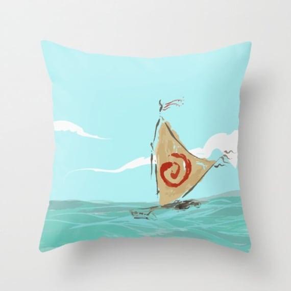 Moana Voyager Boat Pillow Sham