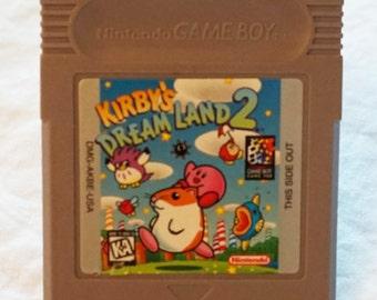 Gameboy Belt Buckle - Kirby's Dream Land 2 Nintendo