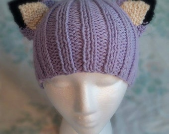 Lavender Fox/Cat Hat