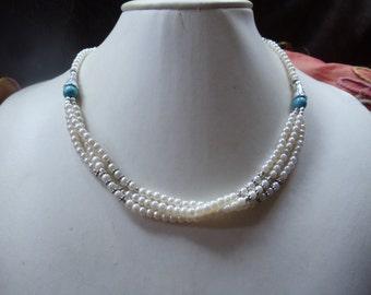 Tender Biwa pearls set of 3-piece jewelry Neclaces
