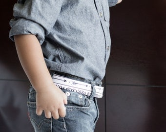 Arrows Kids Belts- Adjustable Velcro Belt