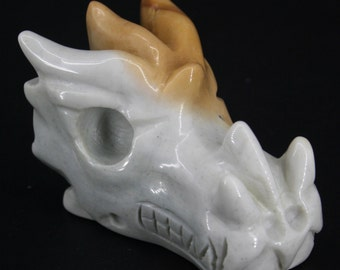 Two Dragon Crystal Skulls for Sale