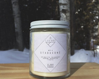 Candle - Stadacona (conifers + hardwood)