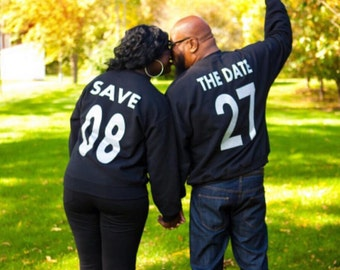Save the date custom sweatshirts