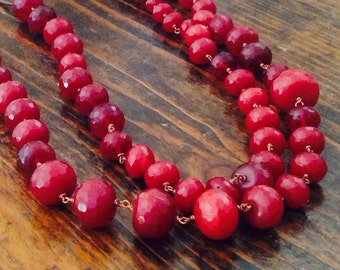 Root Ruby necklace